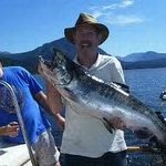 28 pounder on Alberni Charters!!