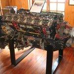 Rolls Royce Supermarine Spitfire 12-cylinder engine