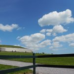 Newgrange on a beautiful day