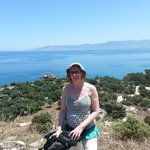 On Nature Trail near Baths of Aphrodite (I was geocaching)