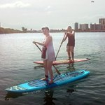 Paddle boarding in P.R. May 2013