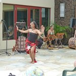 Part of Hula Show at the Kahala Suites