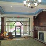 Hotel Lobby w/Fireplace