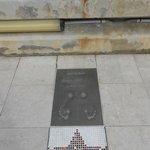 Footprints of George Best