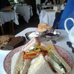 Mini Sandwich Tea.
