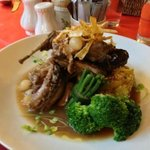 Rabbit for lunch at the Clockhouse