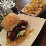onion barjee burger