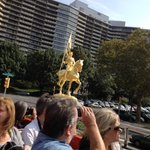 Golden Statue of Joan of Arc
