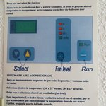 Air conditioning instructions in the room - made me laugh . If you are not happy just turn up th