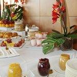 Typical Hotel Institut Breakfast Buffet Spread