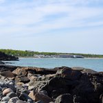 Ogunquit beach from Marginal way walk