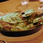Mussels in a REAL Pesto!