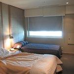 basic, comfortable room
