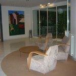 Descanso entrada del Hotel Balneario Sicilia