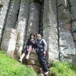 Bonnie and husband in Ireland from Vancouver Canada