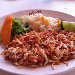 """Blue crab, served """"Mexican style"""""""