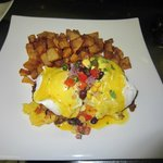 Southwestern Pulled Pork Eggs Benny
