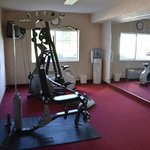 The fitnss room was OK, but a treadmill would be welcome