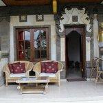 The garden veranda