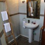 Modern en-suite bathrooms