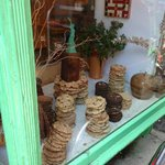 Cookies in the window- try to keep walking- I dare you