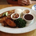 Fish on the Grill Plate