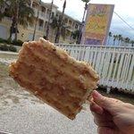 coconut cake on a stick #puregenius #nomnom