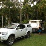 Good caravan site