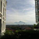 overlooking Merapi Mountain...majestic..