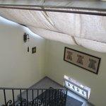Una escalera