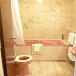 Bathroom in room 134