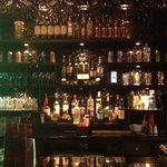 back of their bar