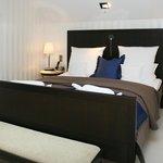 Schlafen und träumen unter Reet im 5 Sterne Hotel.