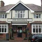 The Woolpack and it's hosts