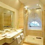 Auch von der Badewanne aus Blick auf die Nordsee.