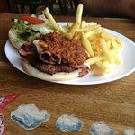Yummy burger!!