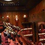 Half-empty theatre