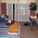Our corner room