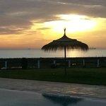 Lever de soleil au Bizerta Resort