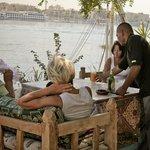 Une vue magnifique sur le Nil