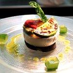 Mozzarella di bufala DOP con verdure grigliate