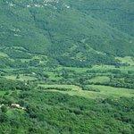 Corsican valley between Ajaccio and Bonifacio