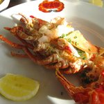 Lobster at Oyster Box - photo by TravelBellaBlog