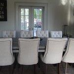 Breakfast Table at Blue Door Inn