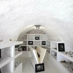 Inside, a typical graceful cave house!