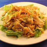 Kua Noodle - stir fried rice noodle thai style