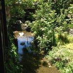 Creek running alongside