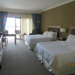 room was spacious and kept very clean