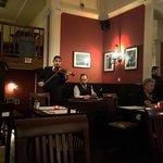 Billy Farkas (violin) and Jeno Lisztes (cymbalon)
