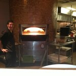 Wood fired stone oven Pizza